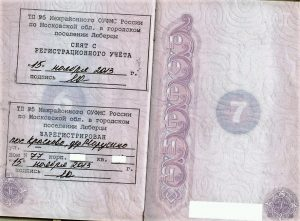 Страница паспорта